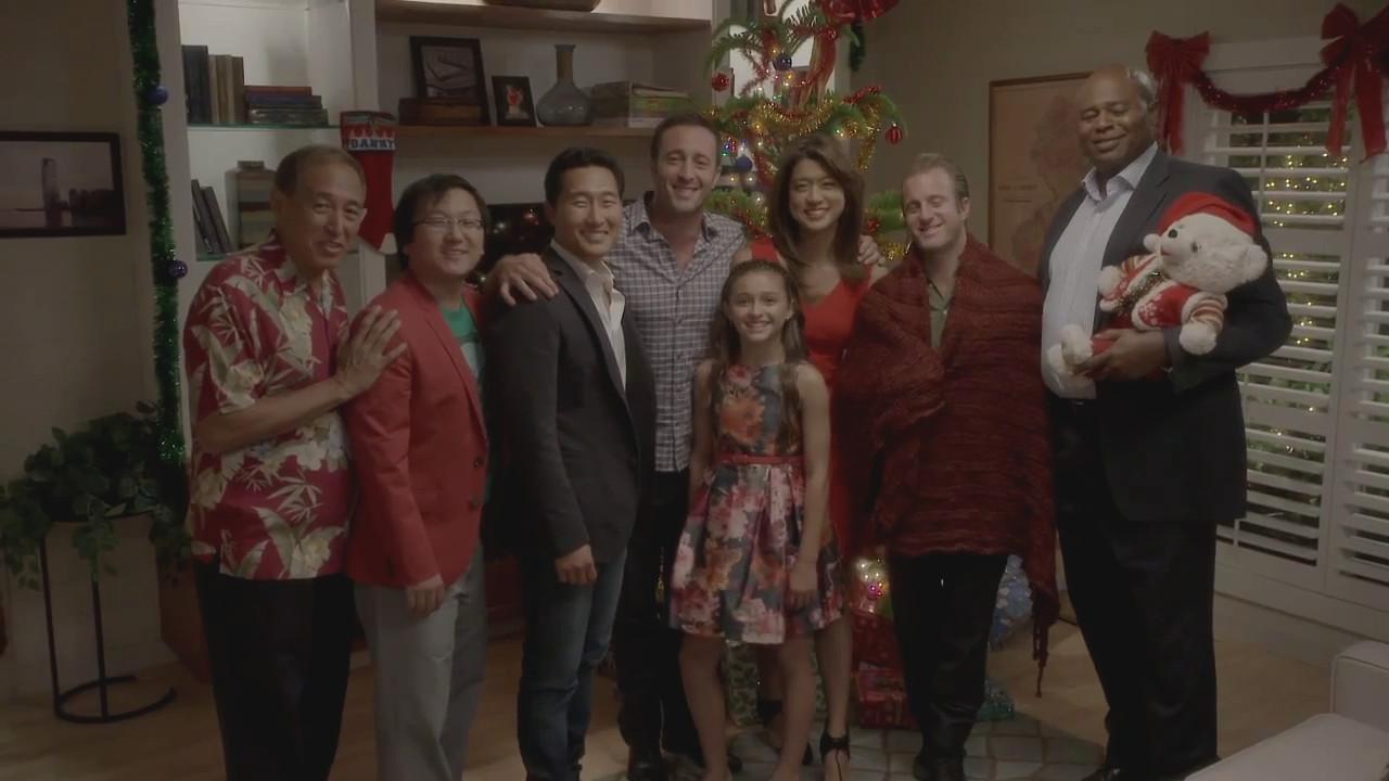 Frohe Weihnachten Vom Quot Hawaii Five 0 Quot Cast Hawaii Five 0