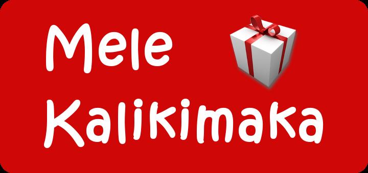 Mele Kalikimaka - Schriftzug